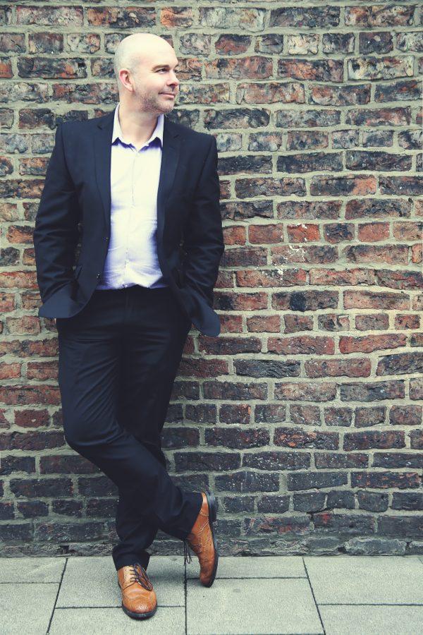 Business Headshots, Quirky Branded Service, Laura Pearman Photography, Laura Pearman, Branded Headshots, Dave Algeo, The Stressed Guru, Stress Management, Stress Speaker, Professional Speaker Headshot