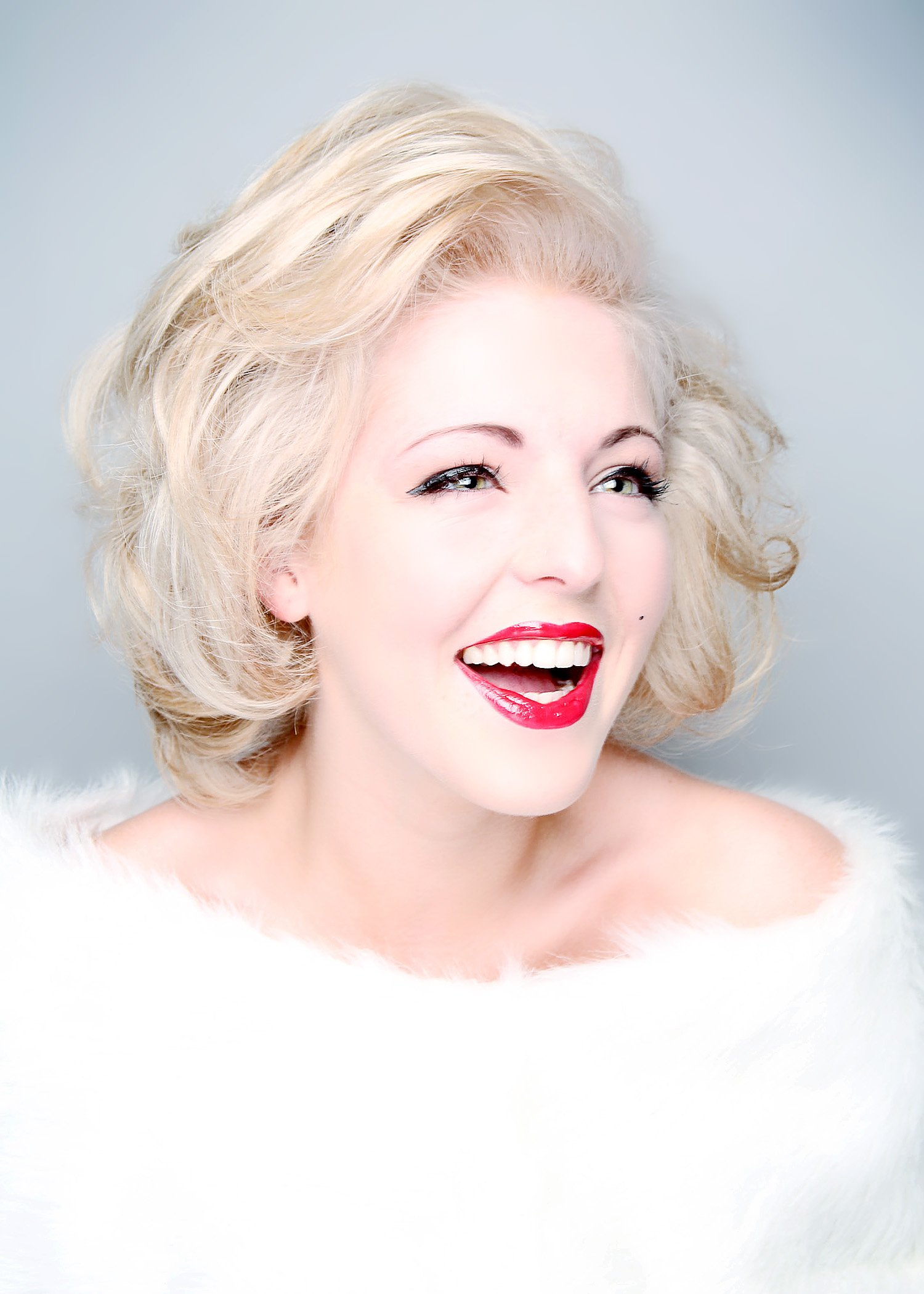Performer Headshots, Impressionist, Marilyn Monroe Double, Calling Card