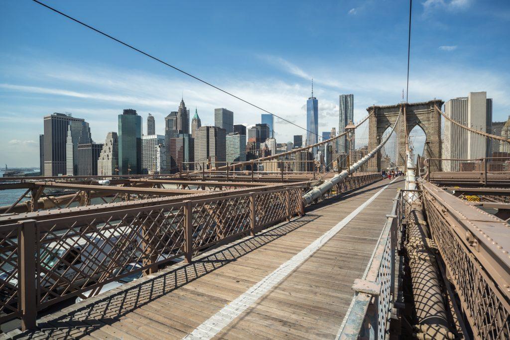 Andrew and Pete Headshot Vlog, Brooklyn Bridge
