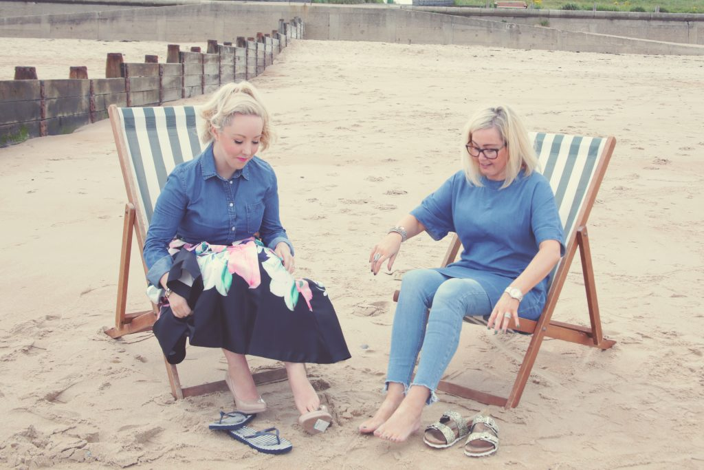Headshots, Claire Jenks, Nichola English, Blyth Beach Huts