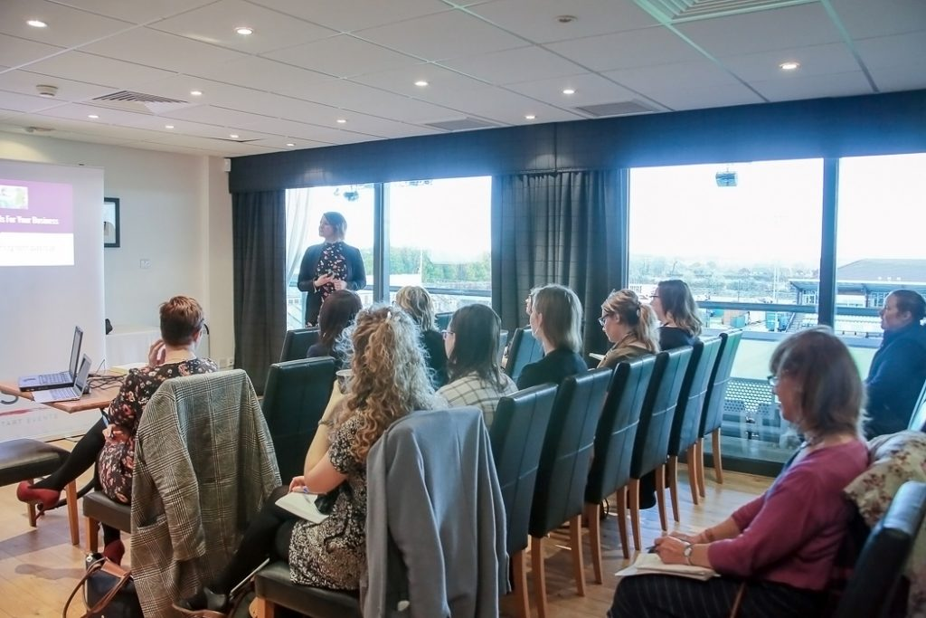 Speaker Headshots Service, Speaker Reel, Laura Pearman Photography, Laura Pearman, Professional Speaker, Debbie Stokoe, Social Butterfly Comms, Writer, Copywriting