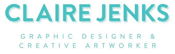 Professional Headshots, Claire Jenks Graphic Design logo