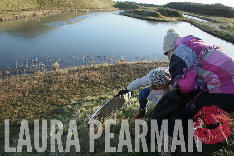 Rescuing the broken reflector from the banks of Northumberlandia
