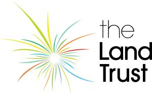 The Land Trust Logo in Colour on White Background