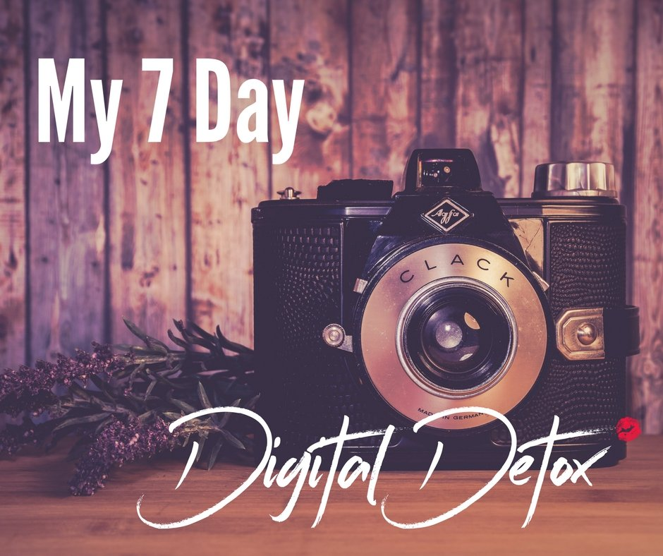 Camera is on the shelf for my 7 day digital detox