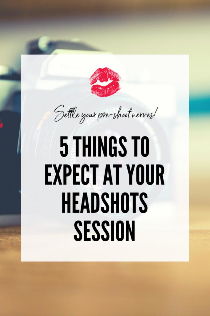 headshot session