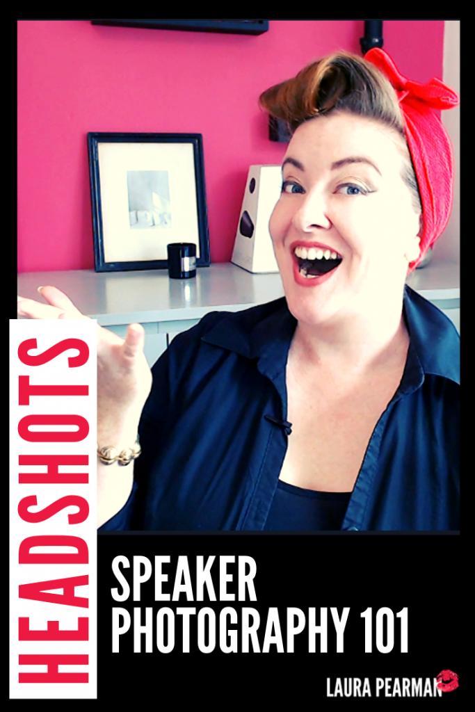 Professional Speaker Photography