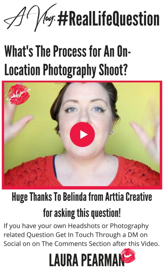 on location photoshoot