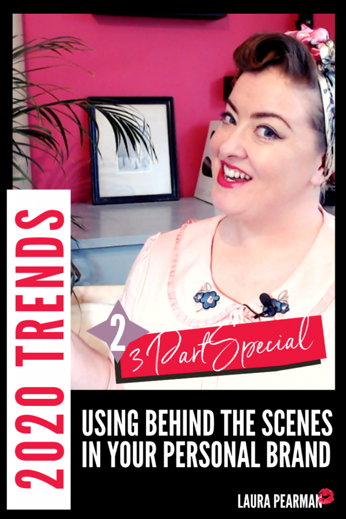 Behind the Scenes content to build your Personal Brand