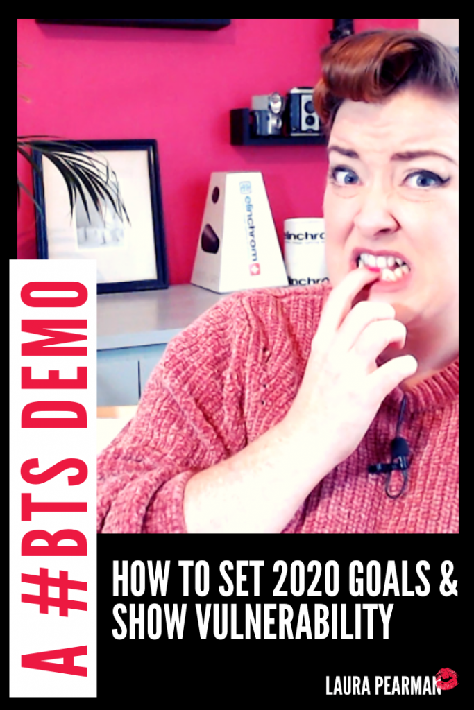 How to Set Goals for 2020: A #BTS Demo