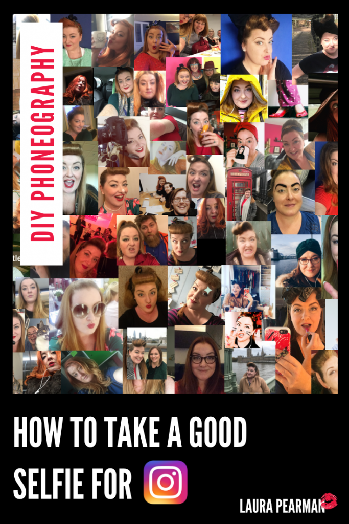 How to take a good selfie for Instagram