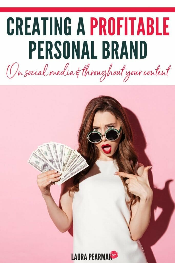 How to create a profitable personal brand on social media