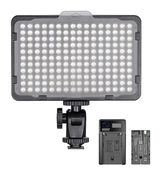 Neewer Dimmable 176 LED Video Light 5600K
