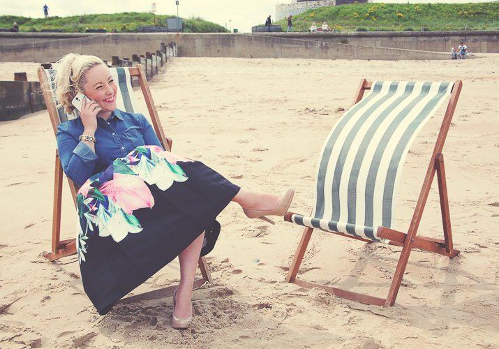 Headshots, Claire Jenks Graphic Design, ND Make Up, Nichola English, Blyth Beach Huts
