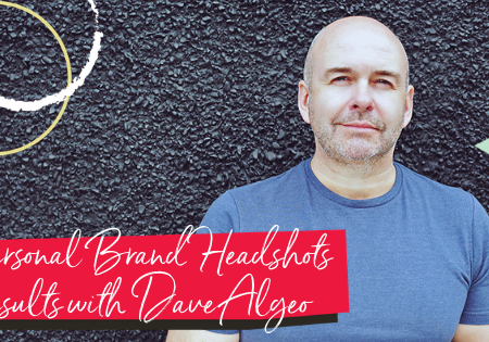 building a personal brand through branded headshots